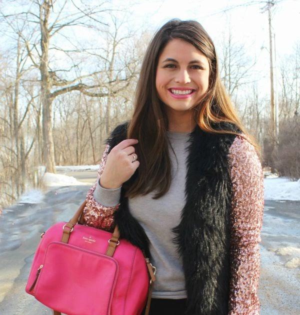 La Petite Fashionista: Glam Winter Sequins