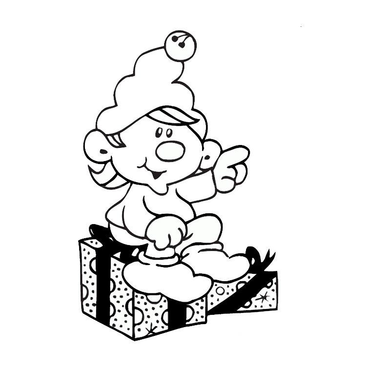 Sélection De Coloriage Lutin De Noel à Imprimer Sur Laguerchecom