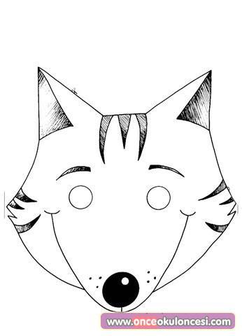 çocuklar Için Maskeler Hayvanlarinsanlarkahramanlar Okul öncesi