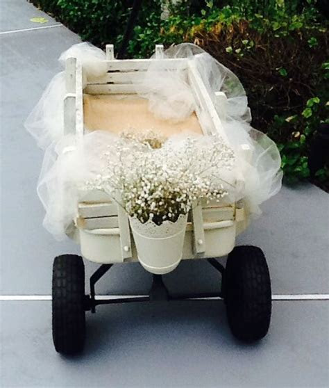 Flower girl wagon   Things I made for Meg's wedding