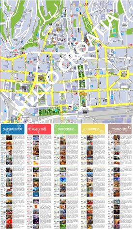 Zagreb Tourist Attractions Map Attractions Near Me