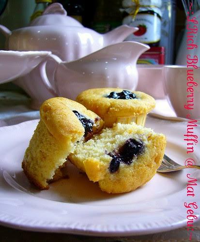Rich Blueberry Muffin