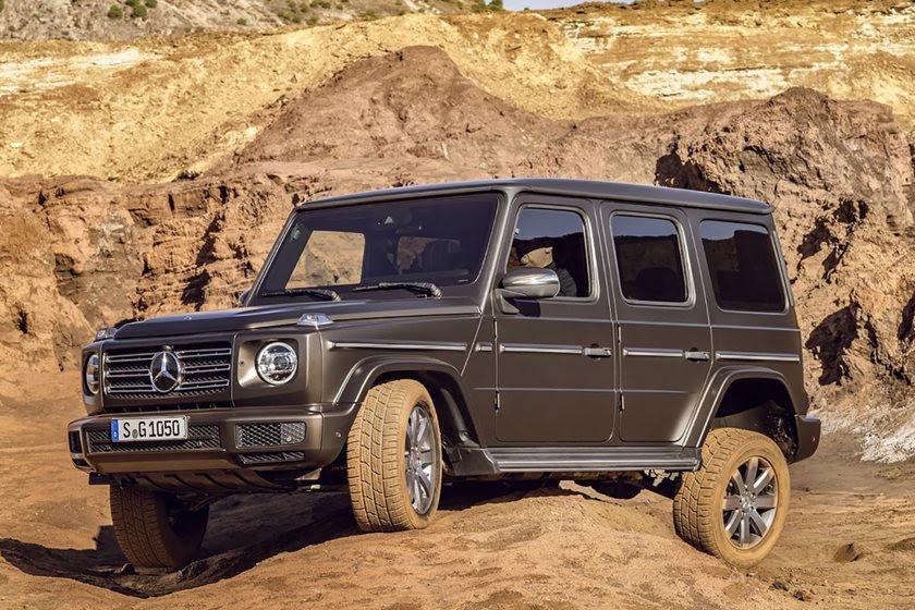 Mercedes-Benz Unveils The New 2019 G550 G-Wagon