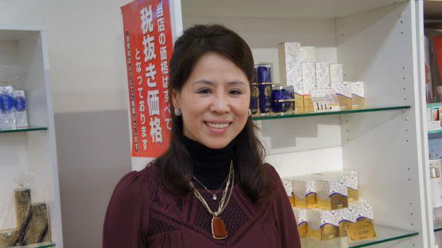 在日本經營免稅店生意已經20年的「日本堂」董事原田優美