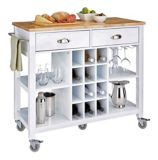 For Living Kitchen Cart with Wine Storage | Canadian Tire
