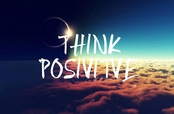 Αποτέλεσμα εικόνας για think positive