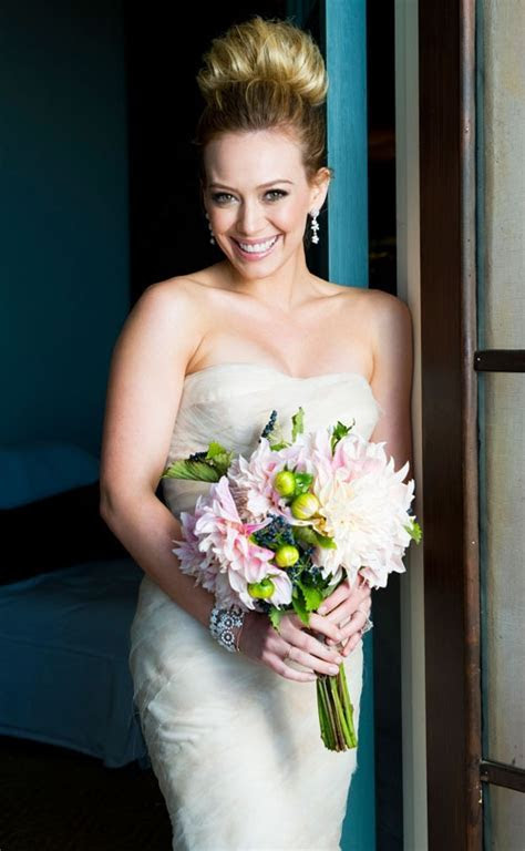 Hilary Duff and Mike Comrie's Wedding   Arabia Weddings