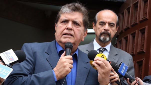 Alan García fue presidente de la República entre 2006 y 2011.