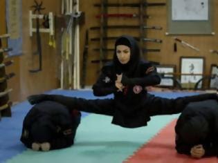 Φωτογραφία για Οι γυναίκες νίντζα από το Ιράν