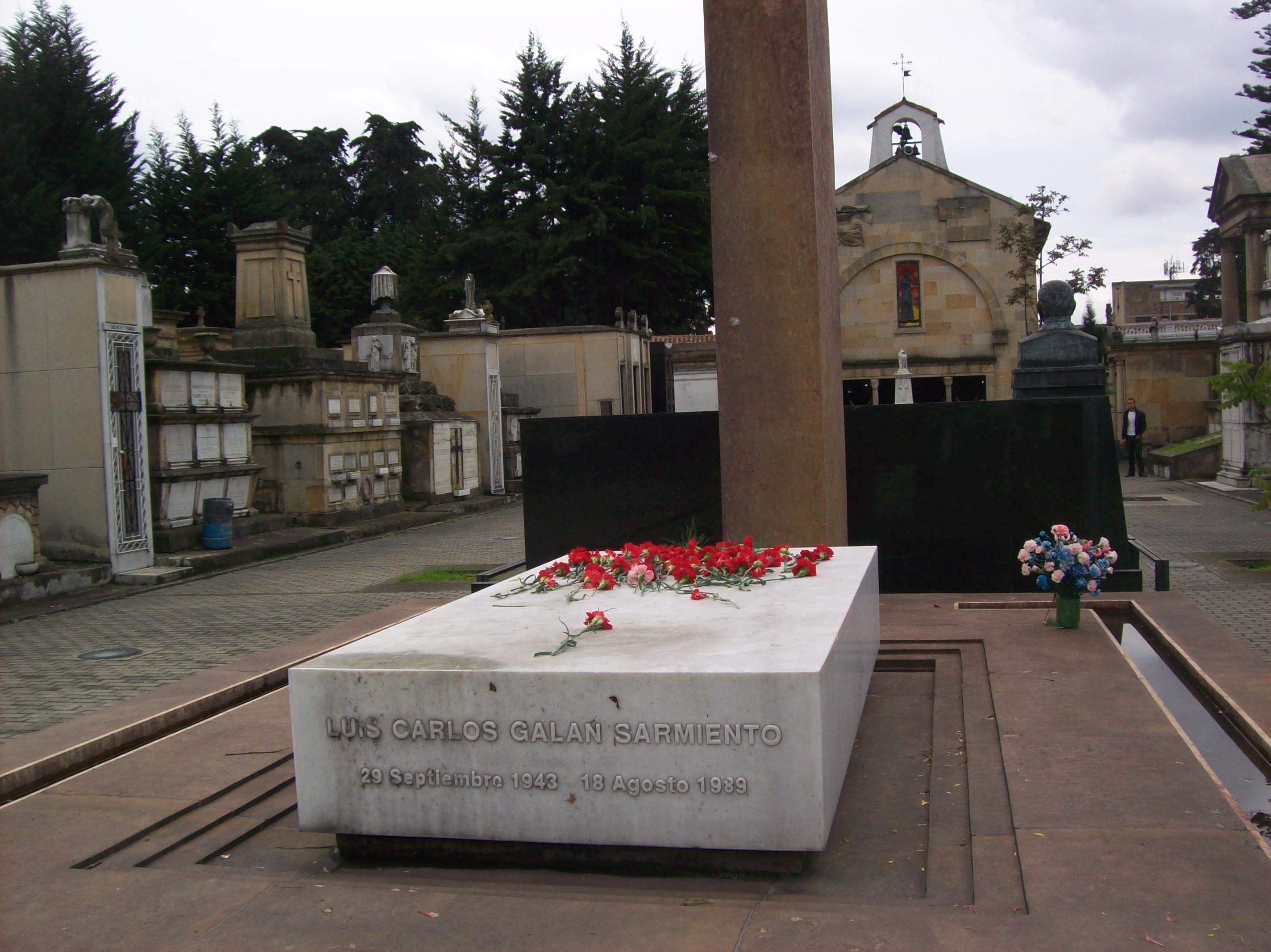 Muerte de Luis Carlos Galán 18 de agosto 1989