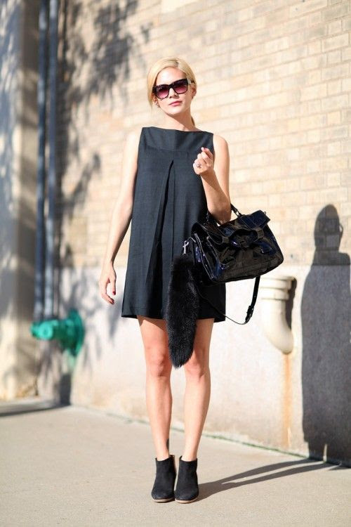summer maternity style-lbd-summer booties-