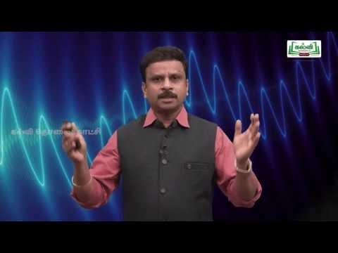 NEET  JEE  Physics இயற்பியல்  Sound Waves அலைகளும் ஒலியும் Kalvi TV