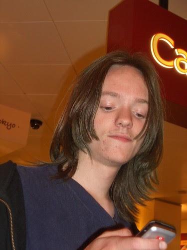 Sam at Euston 2058
