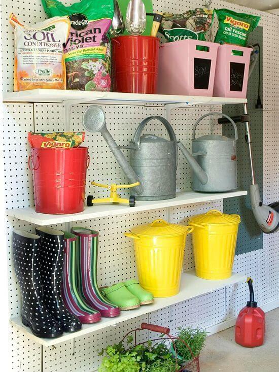 Beautiful Garden Storage mod