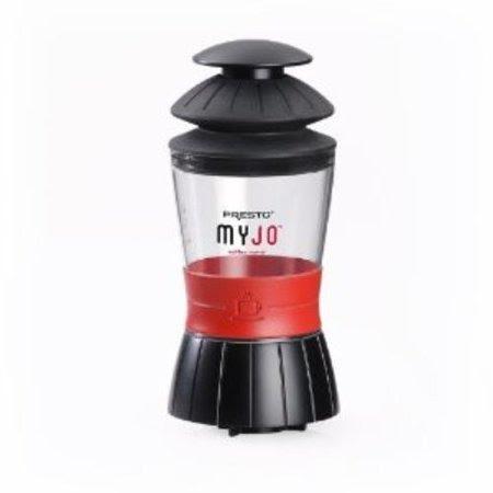 Presto Myjo Single Cup Coffee Maker - Coffee Maker - Silicone Grip, Plastic (02835 49)