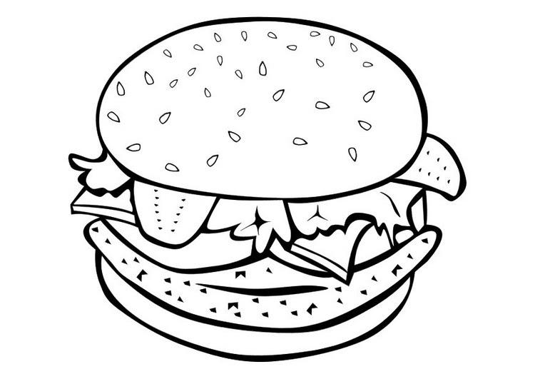 Dibujos Alimentos Saludables Para Colorear Imagui