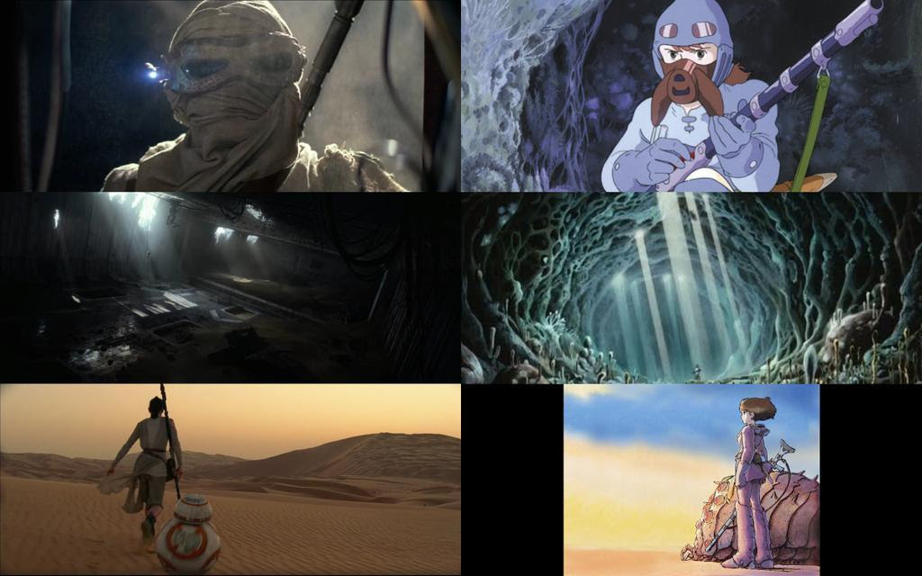 J.J. Abrams inspirado por Hayao Miyazaki