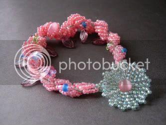 Peppermint Pixie Spiral Rope Bracelet