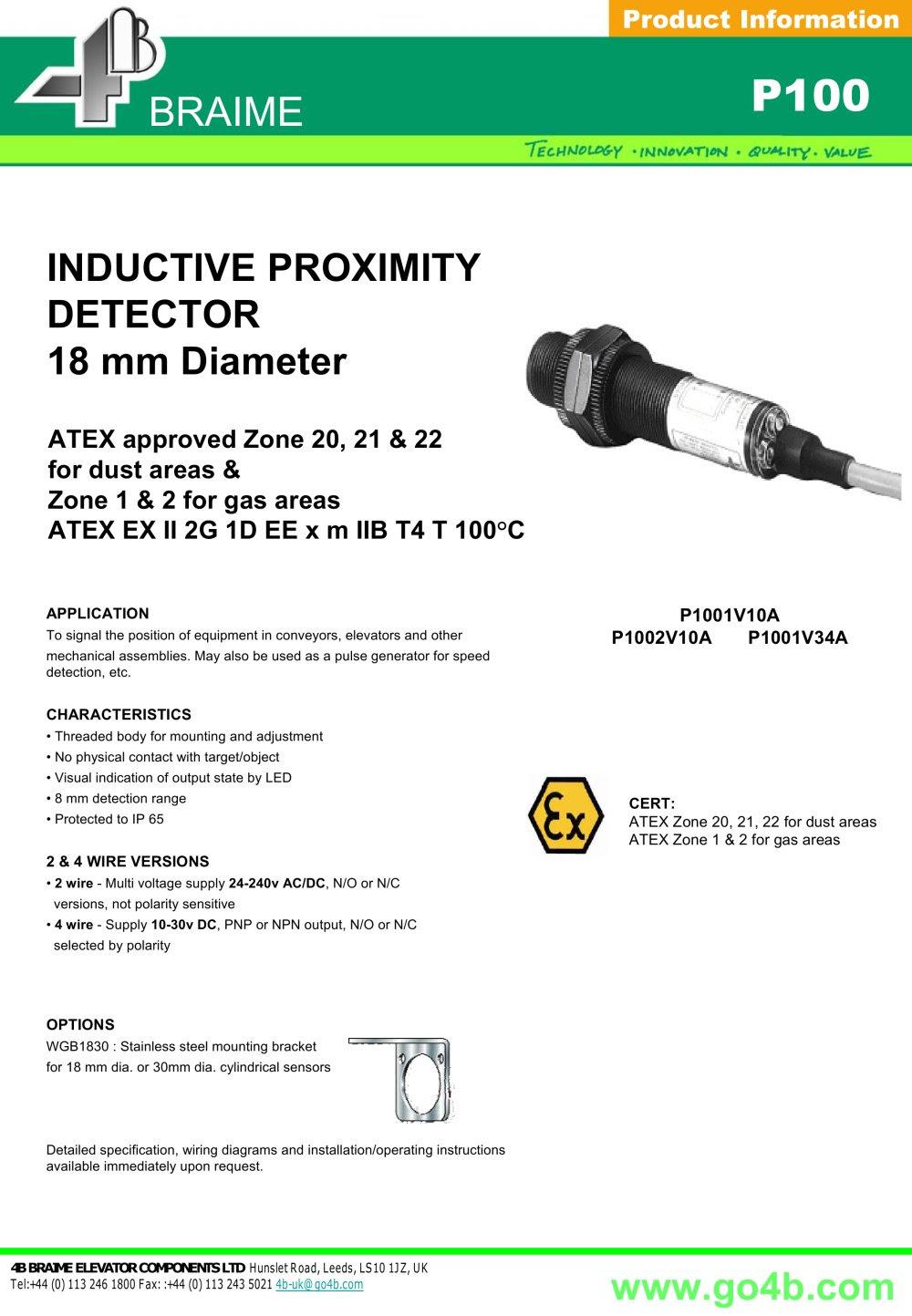 0de Inductive Proximity Sensor Wiring Diagrams Wiring Library