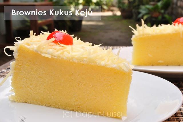 Resep Cake Kukus Keju Coklat: Luisa Cake Jogja: Brownies Kukus Keju