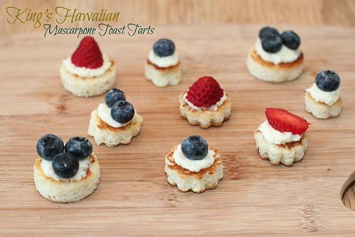 King's Hawaiian Mascarpone Toast Tarts