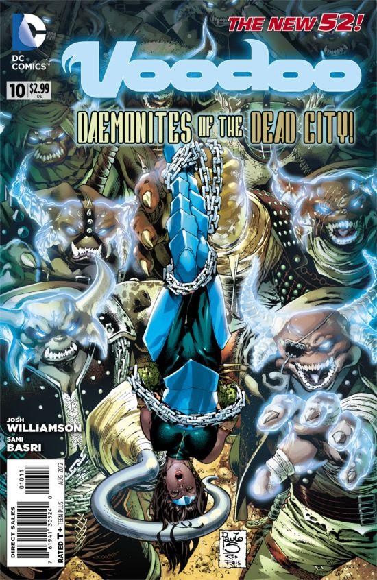 Resultado de imagem para DC COMICS VODU # 08