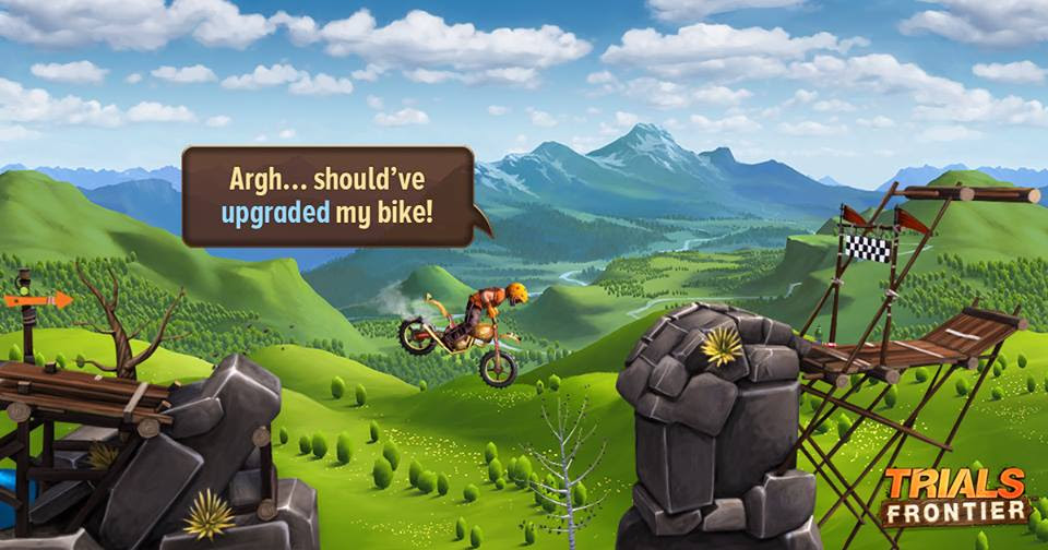 game Trials Frontier cho android miễn phí