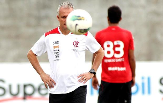 Dorival Junior no treino do Flamengo (Foto: Maurício Val / Vipcomm)