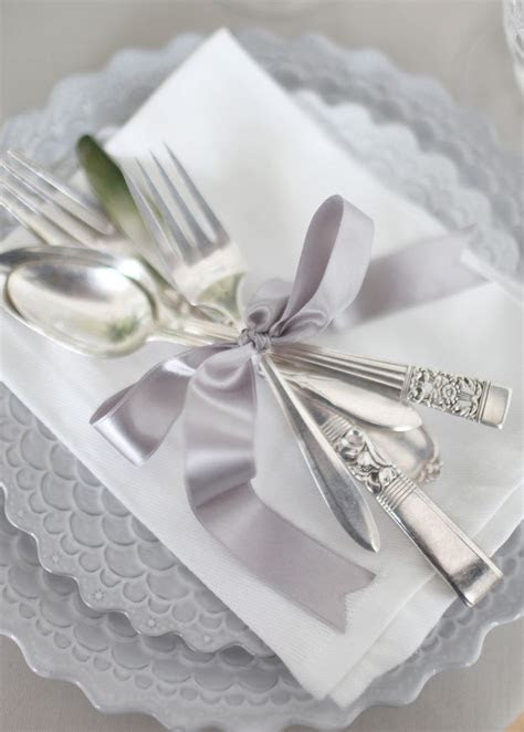 Best 25  Napkin wrapped silverware ideas on Pinterest