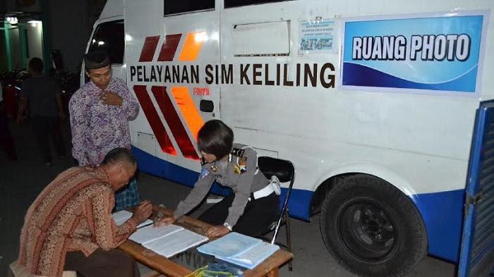 Lokasi dan Jadwal STNK Keliling di Semarang Hari Ini