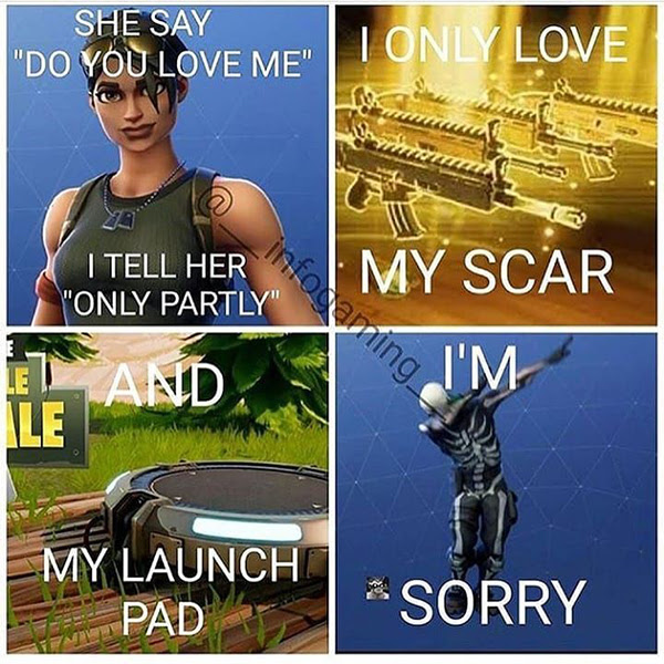 20 Hilarious Fortnite Memes Only Gamers Will Understand ...