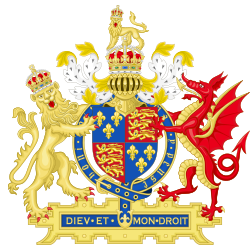 Coat of Arms of England (1509-1554).svg