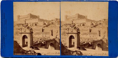 Fotografía estereoscópica de Toledo por Jean Laurent