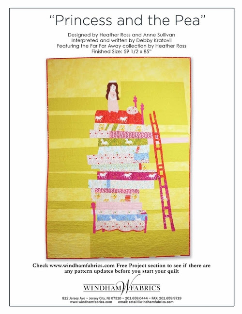 Princess and the Pea by Heather Ross & Anne Sullivan