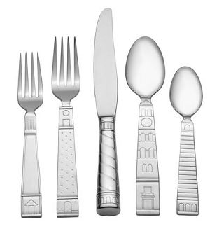 75% off Mikasa Village of Sienna 20 Pc. Flatware Service for 4