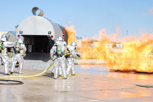 New Aircraft Fire Trainer Demonstration by wyoguard