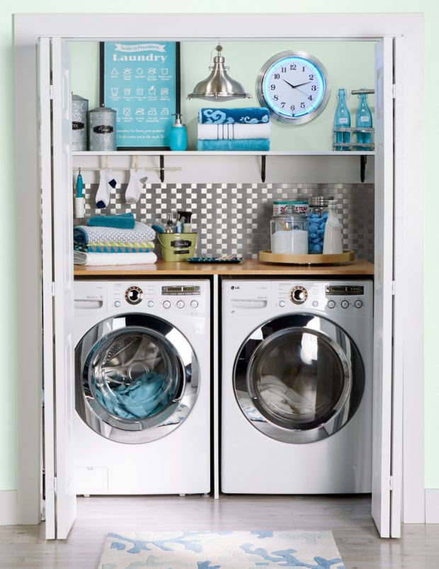 How to get the Most Out of a Small Laundry Room