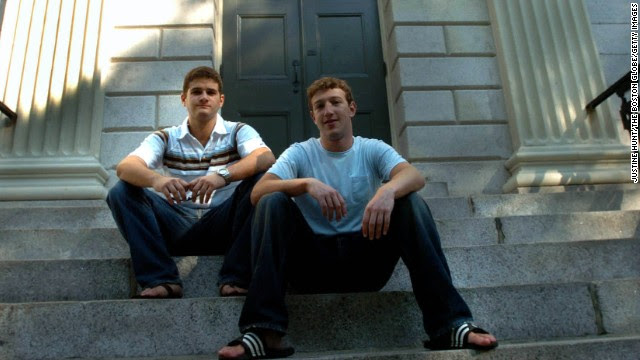 It's been 10 years of change for Facebook, the social network founded February 4, 2004, by Mark Zuckerberg, right, Dustin Moskovitz and three other classmates in a Harvard dorm room. From its awkward beginnings to an international phenomenon with a billion users, here's a look at the many faces of Facebook.