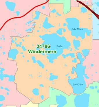 windermere orange county florida 34786