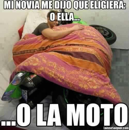 Memes De Motos Imagenes Chistosas