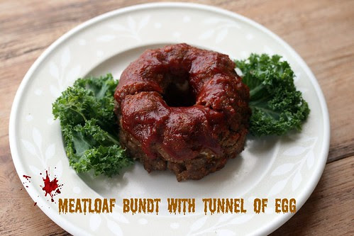 Meatloaf with Tunnel of Egg Bundt - I Like Big Bundts