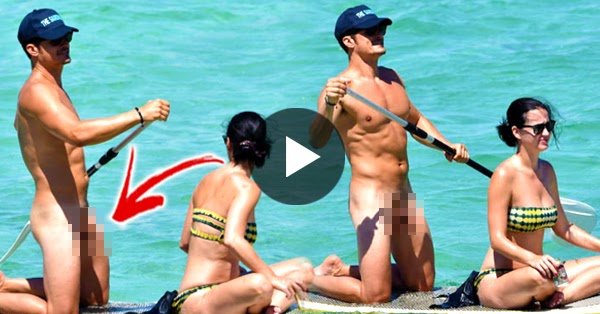 Trending Now Uncensored Orlando Bloom Paddles Naked In -5500