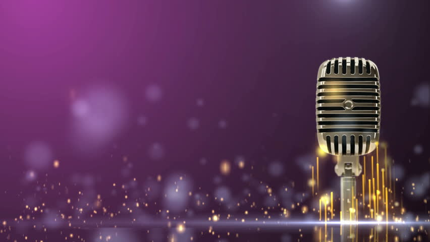Group Of Colorful Microphone Wallpaper Hd