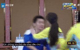 """Cùng chơi gameshow, Lý Thần đã bị """"bầm dập, te tua"""" dưới tay Phạm Băng Băng"""