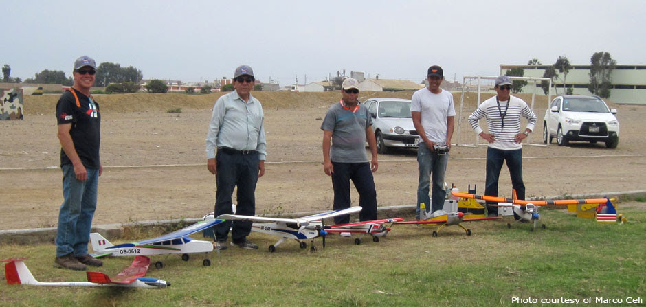 RC pilots in Trujillo, Peru