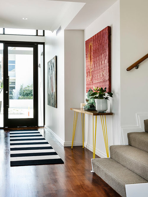 Contemporary Entrance Hall by Stephen Shadley Designs by ...