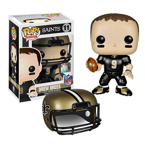 NFL Drew Brees Wave 1 Pop! Vinyl Figure  Funko  Sports: Football  Pop! Vinyl Figures at