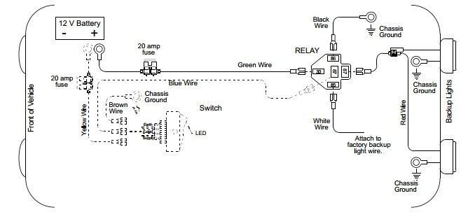 Back Up Lamp Wiring Diagram 2008 Impala