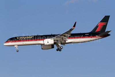 Trump (DJT Operations) Boeing 757-2J4 WL N757AF (msn 25155) DCA (Brian McDonough). Image: 912720.
