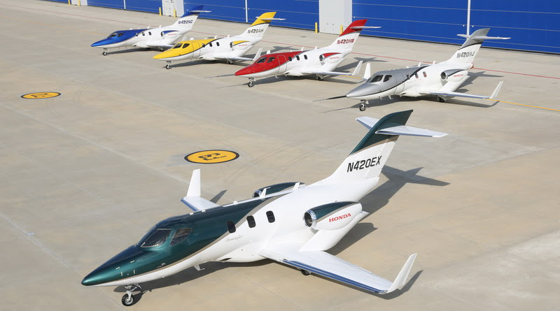 HondaJet _-_ First_Production_Aircraft